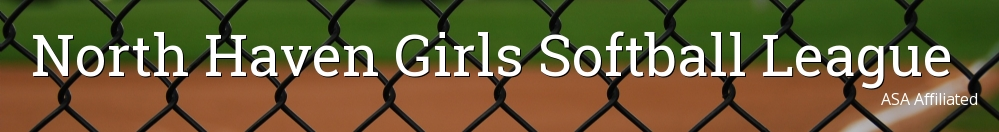 North Haven Girls Softball League, Softball, Run, Field