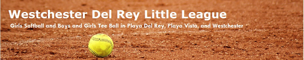 Westchester Del Rey Little League, LL Softball, Run, Field