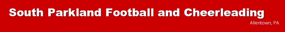 South Parkland Football and Cheerleading, Football, Goal, Field