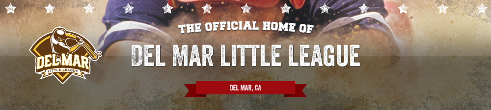 Del Mar Little League, Baseball, Run, Field