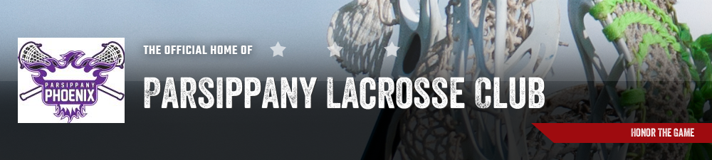 Parsippany Lacrosse Club, Lacrosse, Goal, Field