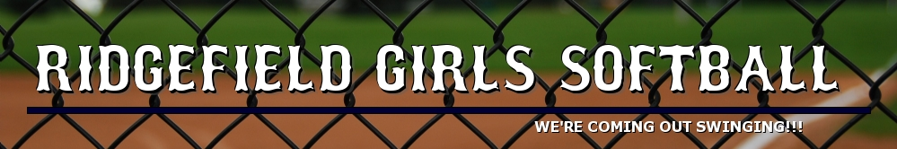 Ridgefield Girls Softball, Softball, Run, Field