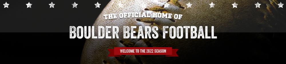 Boulder Bears Youth Football, Football/Cheerleading, Point, Field