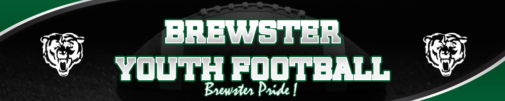 Brewster Youth Football, Football, Score, Field