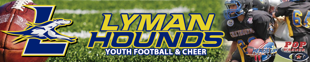 Lyman Youth Football Association, Football, touchdown, Field
