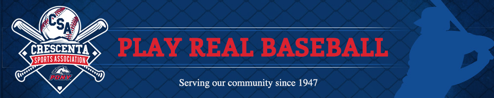 Crescenta Sports Association, Baseball, Run, Field