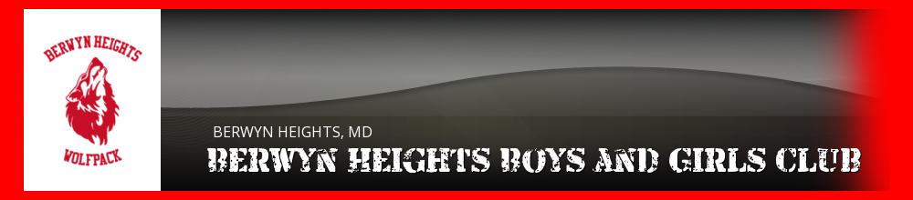 Berwyn Heights Boys and Girls Club, Multi-Sport, Goal, Field