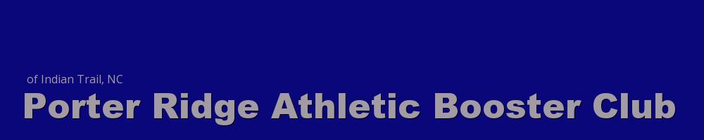 Porter Ridge Athletic Booster Club, Multi-Sport, Score, Field