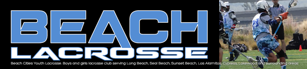 Beach Cities Youth Lacrosse, Lacrosse, Goal, Field