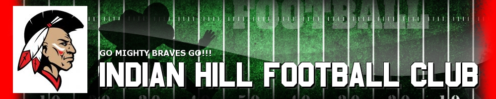 INDIAN HILL FOOTBALL CLUB, Football, Touchdown, Field