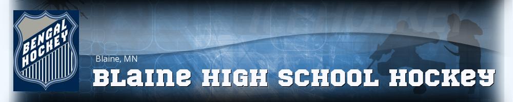 Blaine High School Hockey, Hockey, Goal, Rink