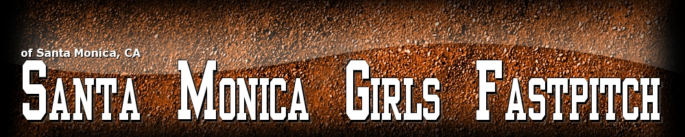Santa Monica Girls Fastpitch, Softball, Run, Field
