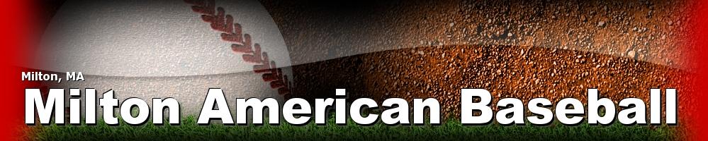 Milton American Baseball, Baseball, Run, Field