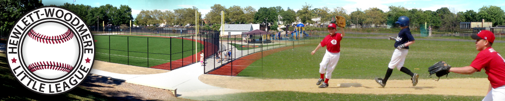 Hewlett Woodmere Little League, Baseball, Run, Field