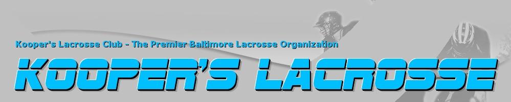 Koopers Lacrosse, Lacrosse, Goal, Field