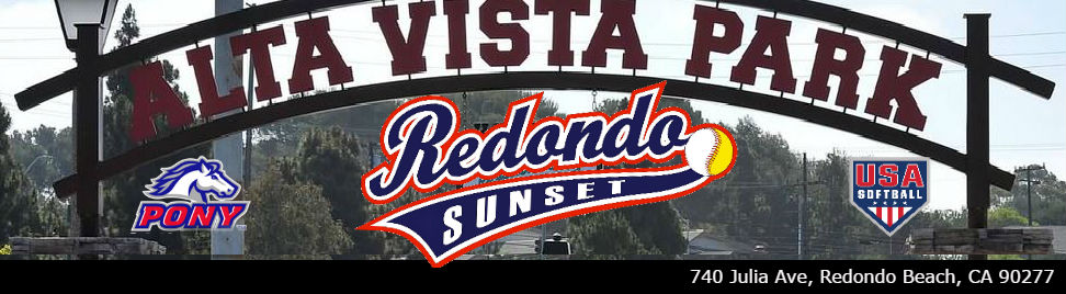 Redondo Sunset League, Baseball and Softball, Run, Field