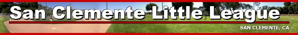San Clemente Little League, Baseball, Run, Field