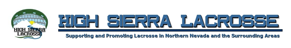 High Sierra Lacrosse League, Lacrosse, Goal, Field
