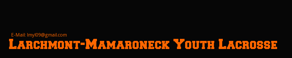 Larchmont-Mamaroneck Youth Lacrosse, Lacrosse, Goal, Field