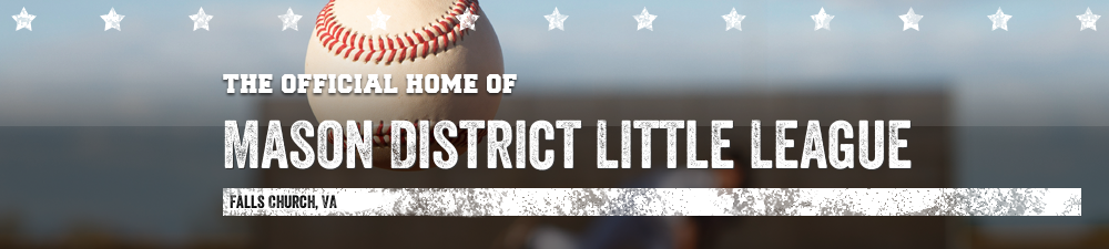 Mason District Little League, Baseball, Run, Field