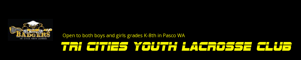 Tri Cities Youth Lacrosse Club, Lacrosse, Goal, Field
