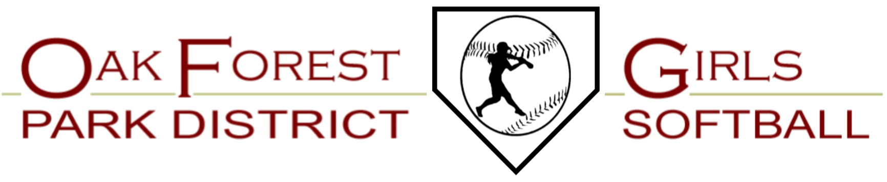 Oak Forest Park District Girls Softball Association, Softball, Run, Field