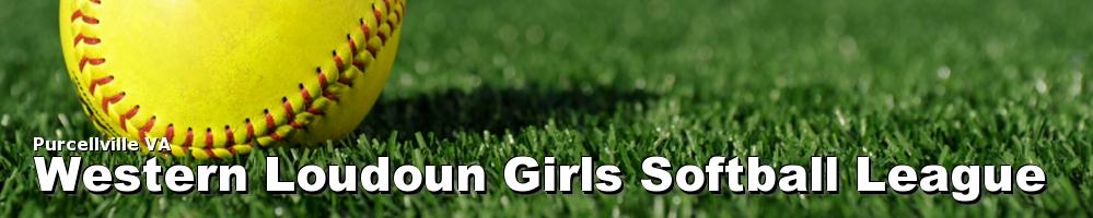 Western Loudoun Girls Softball League, Softball, Run, Field