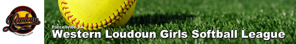 Western Loudoun Girls Softball League, Softball, Run, Field