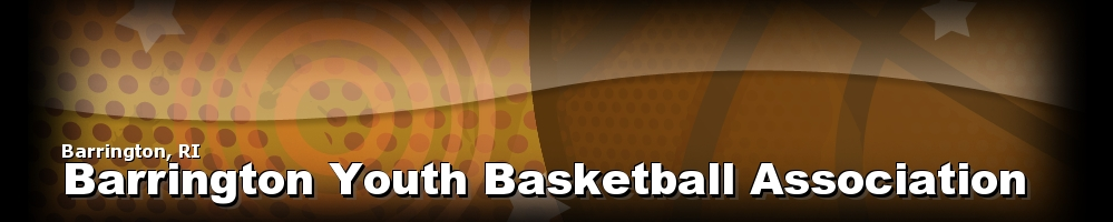 Barrington Youth Basketball Association, Basketball, Point, Court