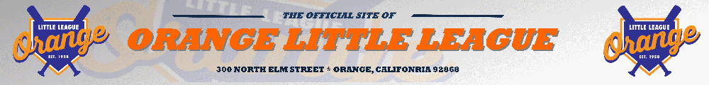 Orange Little League, Baseball, Run, Field