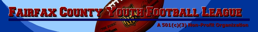 Fairfax County Youth Football League, Football, Point, Field