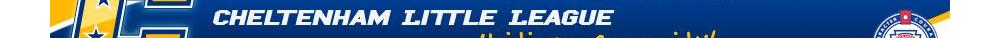 Cheltenham Little League, Baseball/Softball, , Fields