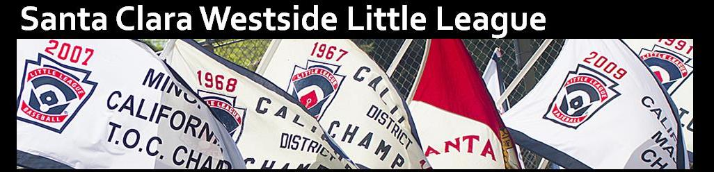Santa Clara Westside Little League, Baseball, Run, Field