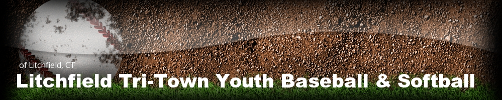 Litchfield Tri-Town Youth Baseball & Softball, Baseball, Run, Field