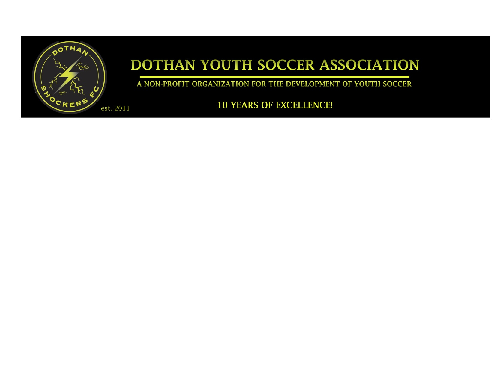 Dothan Youth Soccer Association, Soccer, Goal, Field