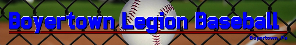 Boyertown Legion Baseball, Baseball, Run, Bear Stadium
