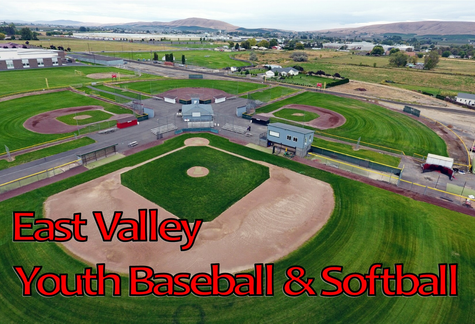 East Valley Youth Baseball & Softball, Baseball, Run, Field
