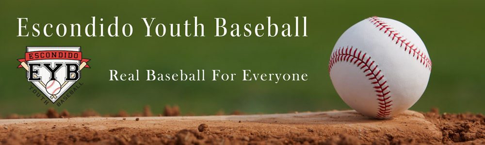 Escondido Youth Baseball, Baseball, Run, Field