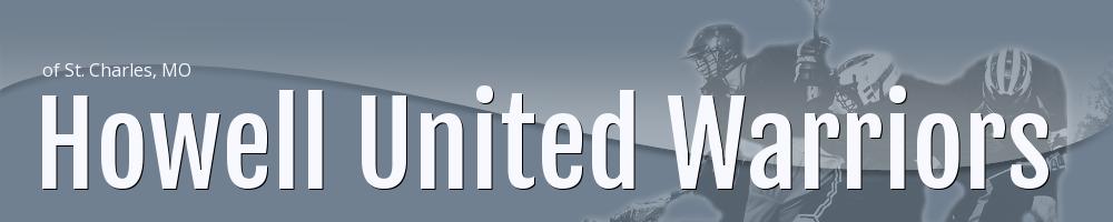 Howell United Warriors, Lacrosse, Goal, Field