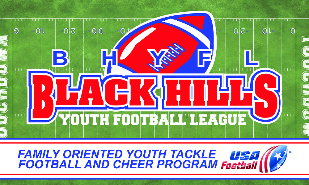 Black Hills Youth Football and Cheer, Football, Goal, Field
