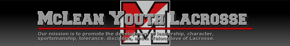 McLean Youth Lacrosse, Lacrosse, Goal, Field