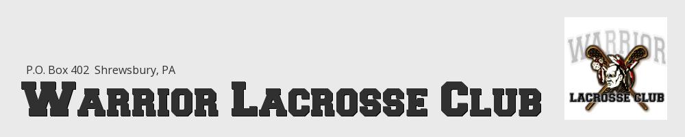 Warrior Lacrosse Club, Lacrosse, Goal, Field