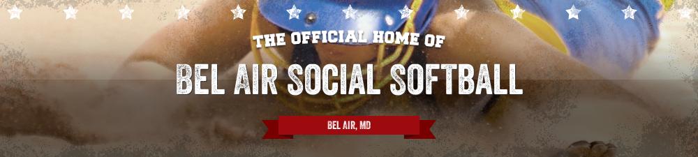 Bel Air Social Softball, Softball, Run, Kelly Fields
