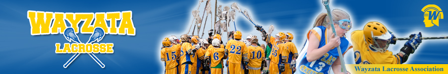 Wayzata Lacrosse Association, Lacrosse, Goal, Field