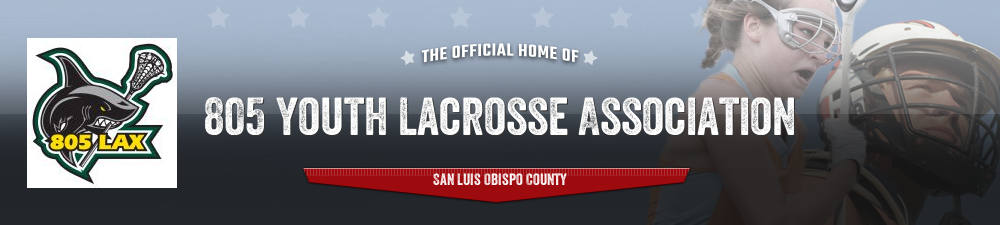 805 Youth Lacrosse Association, Lacrosse, Goal, Field