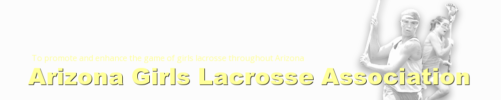 Arizona Girls Lacrosse Association, Lacrosse, Goal, Field