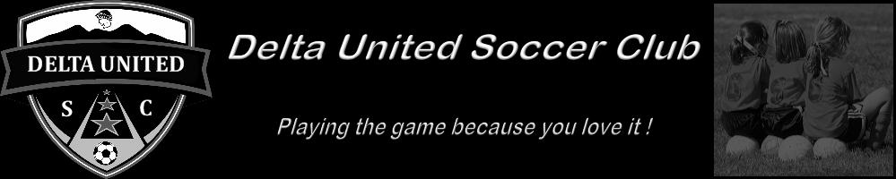 Delta United SC - Premier Soccer, Soccer, Goal, Field