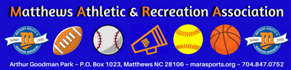 Matthews Athletic & Recreation Association, All - Home, Goal, Field