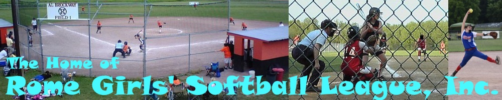 Rome Girls Softball League, Softball, Run, John Kost Memorial Fields