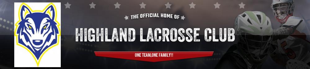 HIGHLAND LACROSSE CLUB, Lacrosse, Goal, Field